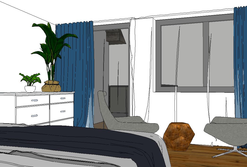 Interiér v 3D programe – kurz 3. úroveň